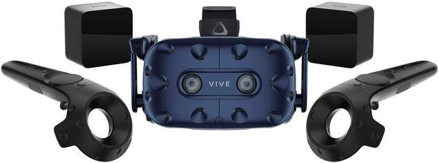 Акция на Очки виртуальной реальности HTC VIVE PRO Starter Kit Combo (система VIVE + шлем VIVE PRO) (99HAPY010-00) от Rozetka