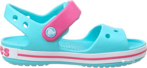 Сандалии Crocs Kids Crocband 12856-4FV-C11 28-29 17.4 см Голубые с розовым (887350720334) от Rozetka