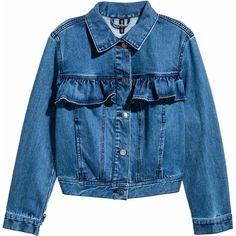 Джинсовая куртка H&M XAZ127840BZIB 34 Синяя (DD2000003875399) от Rozetka