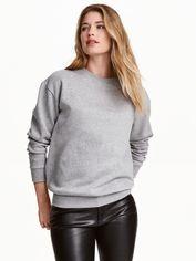 Свитшот H&M XAZ149740XQXB M Серый с черным (DD2000001524541) от Rozetka