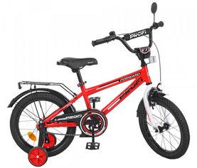"""Акция на Велосипед детский двухколесный Profi 16"""" Forward Красный (T1675 red) от Rozetka"""