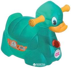 Акция на Детский горшок Ok Baby Quack Бирюзовый (37077230) от Rozetka