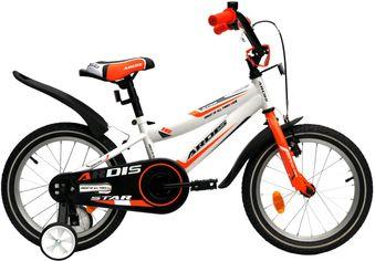 """Детский велосипед Ardis Star 16"""" 9"""" Бело-оранжевый (0437) от Rozetka"""