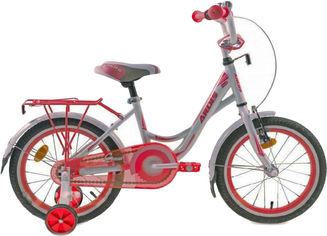 """Детский велосипед Ardis Smart 16"""" 9"""" Бело-красный (04491) от Rozetka"""