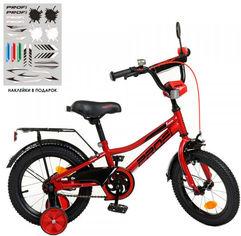 """Велосипед детский двухколесный PROF1 Prime 12"""" Красный (Y12221 red) от Rozetka"""