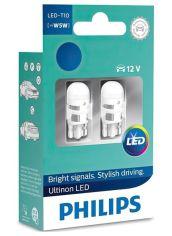 Лампа светодиодная Philips W5W Ultinon 4000K (11961ULW4X2) от MOYO