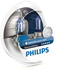 Лампа галогеновая Philips H4 Diamond Vision (12342DVS2) от MOYO