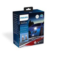 Лампа светодиодная Philips H8/H11/H16 X-treme Ultinon Led +250% от MOYO