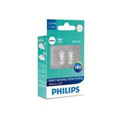 Лампа светодиодная Philips W5W Ultinon 6000K (11961ULWX2) от MOYO