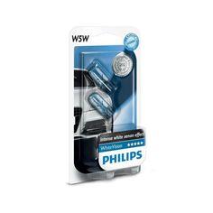 Лампа накаливания Philips W5W WhiteVision (12961NBVB2) от MOYO