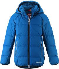 Акция на Зимняя куртка-пуховик Reima 531359-6680 116 см Синяя (6438429008323) от Rozetka