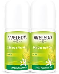 Набор дезодорантов Weleda Цитрус Roll-On 24 часа 50 мл х 2 шт (4001638095235) от Rozetka