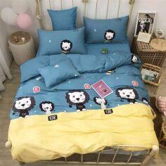 Комплект постельного белья MirSon Бязь 17-0095 Zidoni 175х210 см (2200001530263) от Rozetka