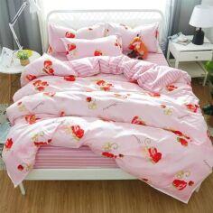 Комплект постельного белья MirSon Бязь 17-0078 Kristina 175х210 см (2200001521438) от Rozetka