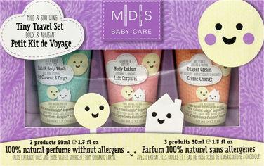 Акция на Набор косметики по уходу Mades Cosmetics Baby Care Дорожный 50 мл х 3 шт (8714462096205) от Rozetka