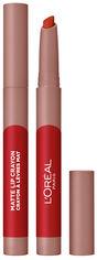 Акция на Помада-карандаш для губ L'Oreal Paris Matte Lip Crayon оттенок 110 1.3 г (3600523793822) от Rozetka