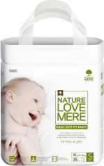 Акция на Подгузники-трусики NatureLoveMere Magic Soft Fit размер XL 20 шт (8809402093700) от Rozetka
