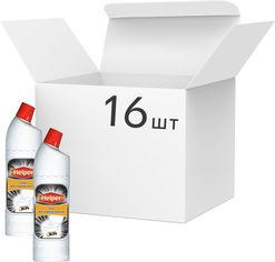 Упаковка геля для чистки унитаза Helper 750 г х 16 шт (4823019010442) от Rozetka