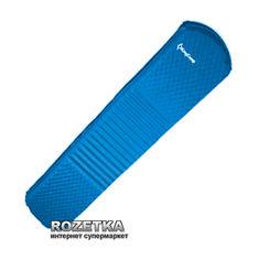 Акция на Cамонадувающийся коврик KingCamp Wave Super (KM3548 Blue) от Rozetka