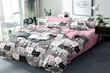 Акция на Комплект постельного белья MirSon Сатин 22-1121 Hilma 160х220 см (2200001550803) от Rozetka