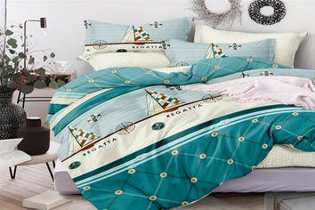 Акция на Комплект постельного белья MirSon Сатин Premium 22-1130 Broddi 200х220 см (2200001552548) от Rozetka