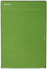 Самонадувающийся коврик KingCamp Comfort Double KM3084 Green от Rozetka