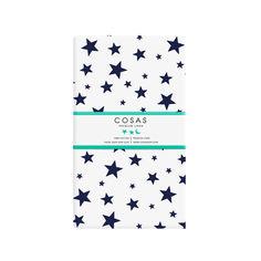Акция на Детская простынь на резинке Cosas StarWBlue 60х120 см от Podushka