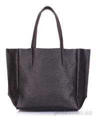 Акция на Кожаная сумка Poolparty Soho Mini soho mini black от Podushka