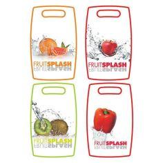 Акция на Доска разделочная Fruit Splash большая MAESTRO MR 1686  дизайн: киви от Podushka