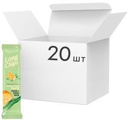 Упаковка чипсов Long Chips Сыр и молодой лук 75 г х 20 шт (14750127300738) от Rozetka