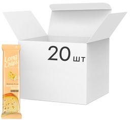 Упаковка чипсов Long Chips Сыр 75 г х 20 шт (14750127300615) от Rozetka