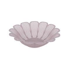 Акция на Хлебница круглая Violet House 0245 Виолетта Powder 35х10 см от Podushka