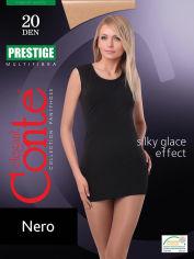 Акция на Колготки черные 20 Den женские Prestige Conte 8С-43СП Nero 2 от Podushka