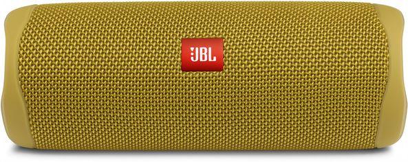 Акустическая система JBL Flip 5 Yellow (JBLFLIP5YEL) от Rozetka