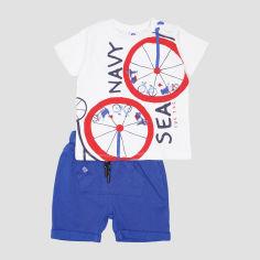 Акция на Костюм (футболка + шорты) TUC TUC 11280374 75-83 см Голубой (8434830202532) от Rozetka