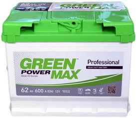 Автомобильный аккумулятор Green Power MAX 62 Ah (+/-) Euro (600EN) (22380) от Rozetka