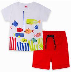 Акция на Костюм (футболка + шорты) TUC TUC 11280490 99-104 см Красный (8434830213910) от Rozetka