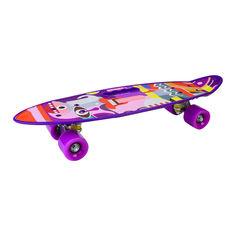 Акция на Пенни борд Shantou jinxing Фиолетовый 56х15 см (JP-HB-31-4) от Будинок іграшок