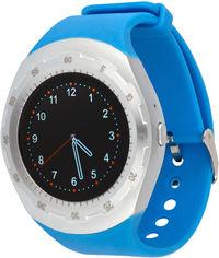 Акция на Смарт-часы Atrix Smart Watch X5 IPS Pulse and AD Silver-Blue (swtax5sbl) от Rozetka