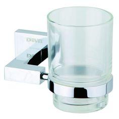 Стакан для ванной DEVIT Quadro 09050SC от Rozetka