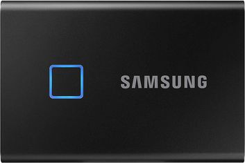 Акция на Samsung Portable SSD T7 TOUCH 2TB USB 3.2 Type-C (MU-PC2T0K/WW) External Black от Rozetka