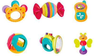 Набор погремушек Hola Toys 6 шт (939A) (6944167193912) от Rozetka
