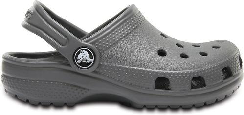 Сабо Crocs Kids Classic Clog 204536-0DA-C11 28-29 17.4 см SLATE GREY (887350977868) от Rozetka