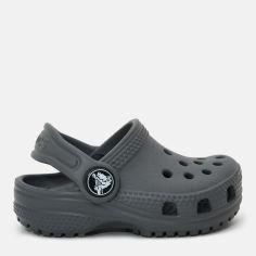 Сабо Crocs Kids Classic Clog 204536-0DA-C10 27-28 16.6 см SLATE GREY (887350977851) от Rozetka