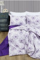 Комплект постельного белья Lotus Premium Anna 145х210х2 Лиловый (svk-2000022193344) от Rozetka