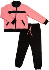 Акция на Спортивный костюм Danaya ШЯТ-7/18 140 см Черный с розовым (2000013850928) от Rozetka