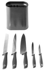 Акция на Набор ножей Brabantia Tasty+ Slice & Dice с подставкой 6 предметов (123061) от Rozetka