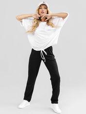 Спортивный костюм ISSA PLUS 12070 3XL Черный с белым (2000399548464) от Rozetka