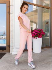 Спортивный костюм Issa Plus 11940 S Розовый (issa2000346993088) от Rozetka