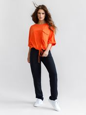 Спортивный костюм ISSA PLUS 12070 XXL Черный с оранжевым (2000399548730) от Rozetka